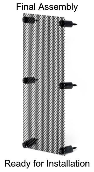 Diy Speaker Grill Mounting Kit