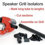 DIY Speaker Grill Isolator Kit